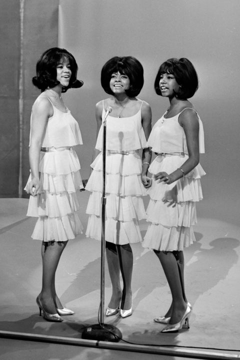 the supremes on 'the ed sullivan show', the supremes, diana ross