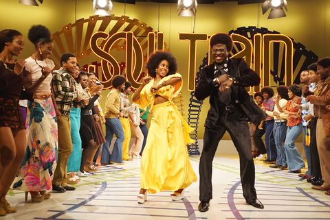 "still of sinqua walls as don cornelius from bet's ""american soul"" episode 204 photo annette brownbet"