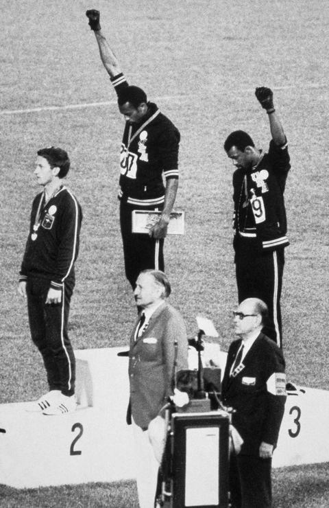 ورزشکاران المپیکی روی سکو