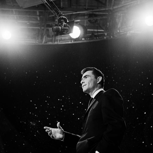Rod Serling In 'The Twilight Zone'