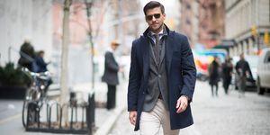 Americana y pantalon hombre