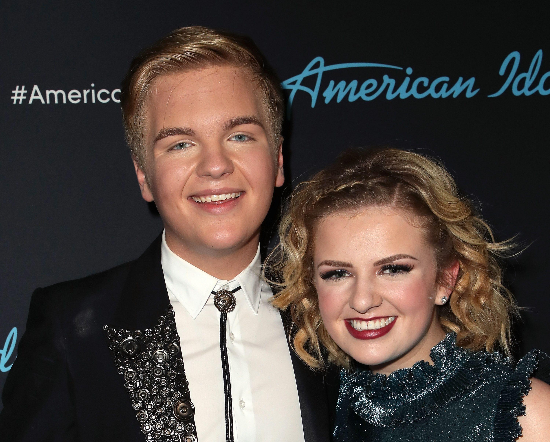 Who is caleb dating on american idol