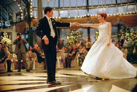 Photograph, Ballroom dance, Event, Dress, Gown, Wedding dress, Marriage, Ballroom, Ceremony, Dance,