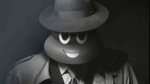 White, Black, Facial expression, Monochrome photography, Black-and-white, Eyewear, Monochrome, Smile, Fictional character, Hat,