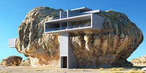Amey Kandalgaonkar arquitectura rocas desierto