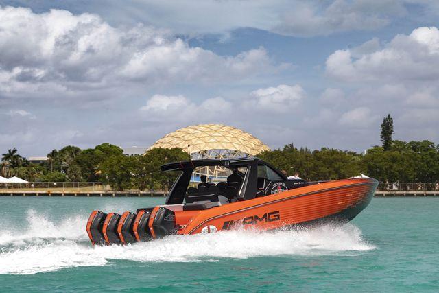 mercedesamg boat
