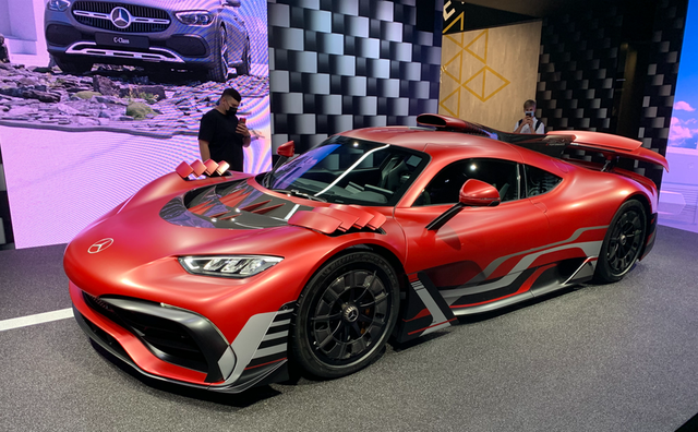 amg one at the iaa