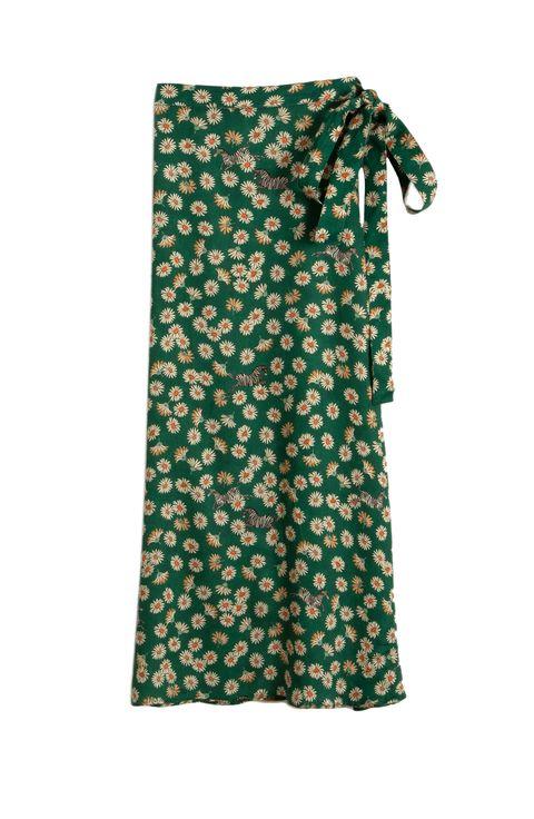 nuevo estilo 210e9 38ff0 La falda pareo larga que llevan todas las instagramers es de ...