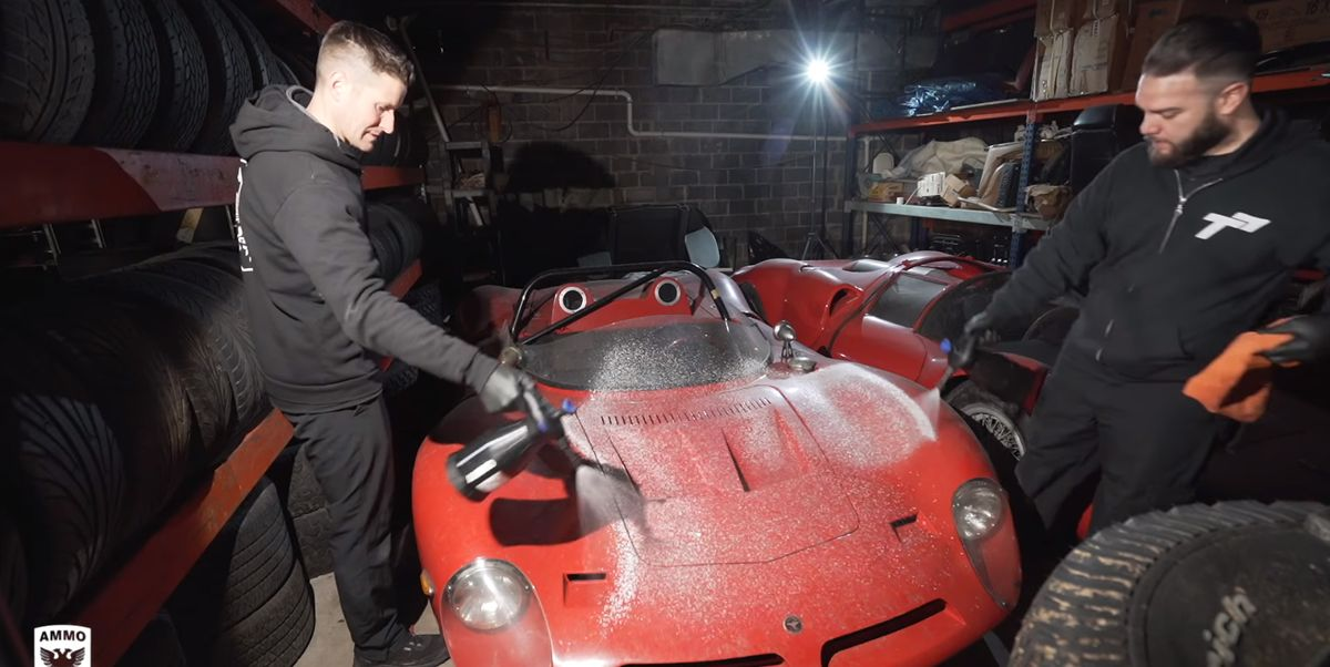 Washing 30 Years of Dirt off a Million-Dollar Car