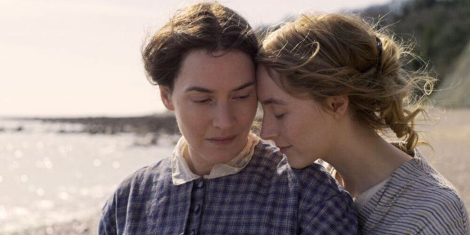 Kate Winslet and Saoirse Ronan in lesbian film Ammonite first look