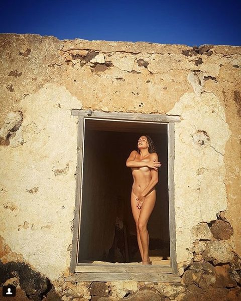 Wall, Window, Barechested, Photography, Stock photography, Vacation, Ancient history, Door, Ruins,