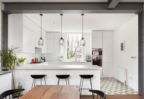 Wood, Floor, Interior design, Room, Flooring, Table, Ceiling, Glass, Furniture, Hardwood,