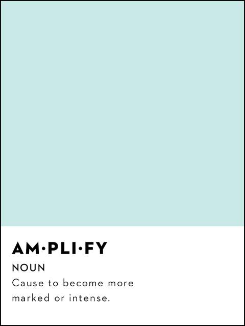 amplify definition