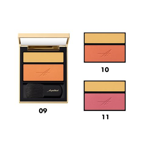 Orange, Eye, Eye shadow, Material property, Beige, Brand, Peach, Wallet,