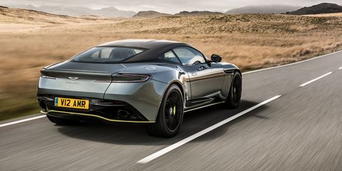The Aston Martin Db11 Amr Has 630 Hp To Rip Across Country With