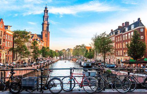 Ciudades que se adaptadas a la circulación de bicicletas Amsterdam