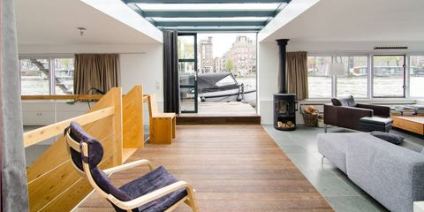 Amstel River Luxury Houseboat rental — Amsterdam, Netherlands