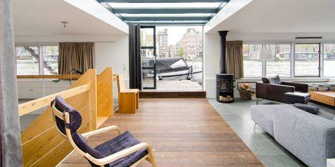 Amstel River Luxury Houseboat rental— Amsterdam, Netherlands