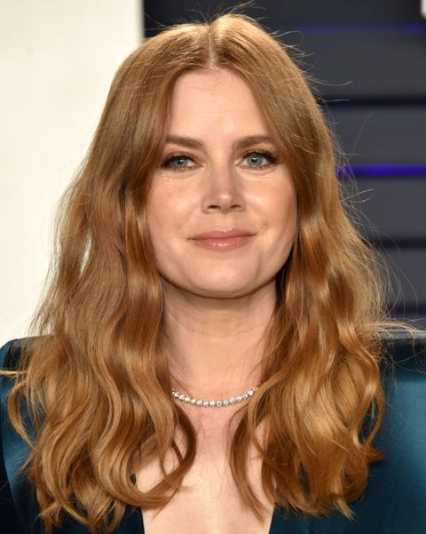 amy adams red hair with highlights