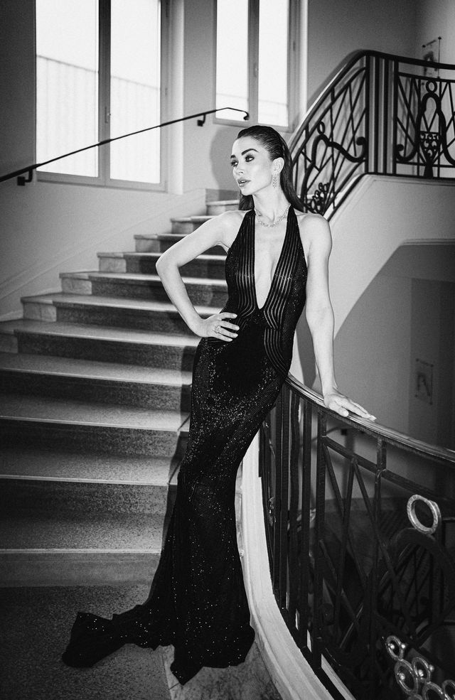 amy jackson at cannes 2021