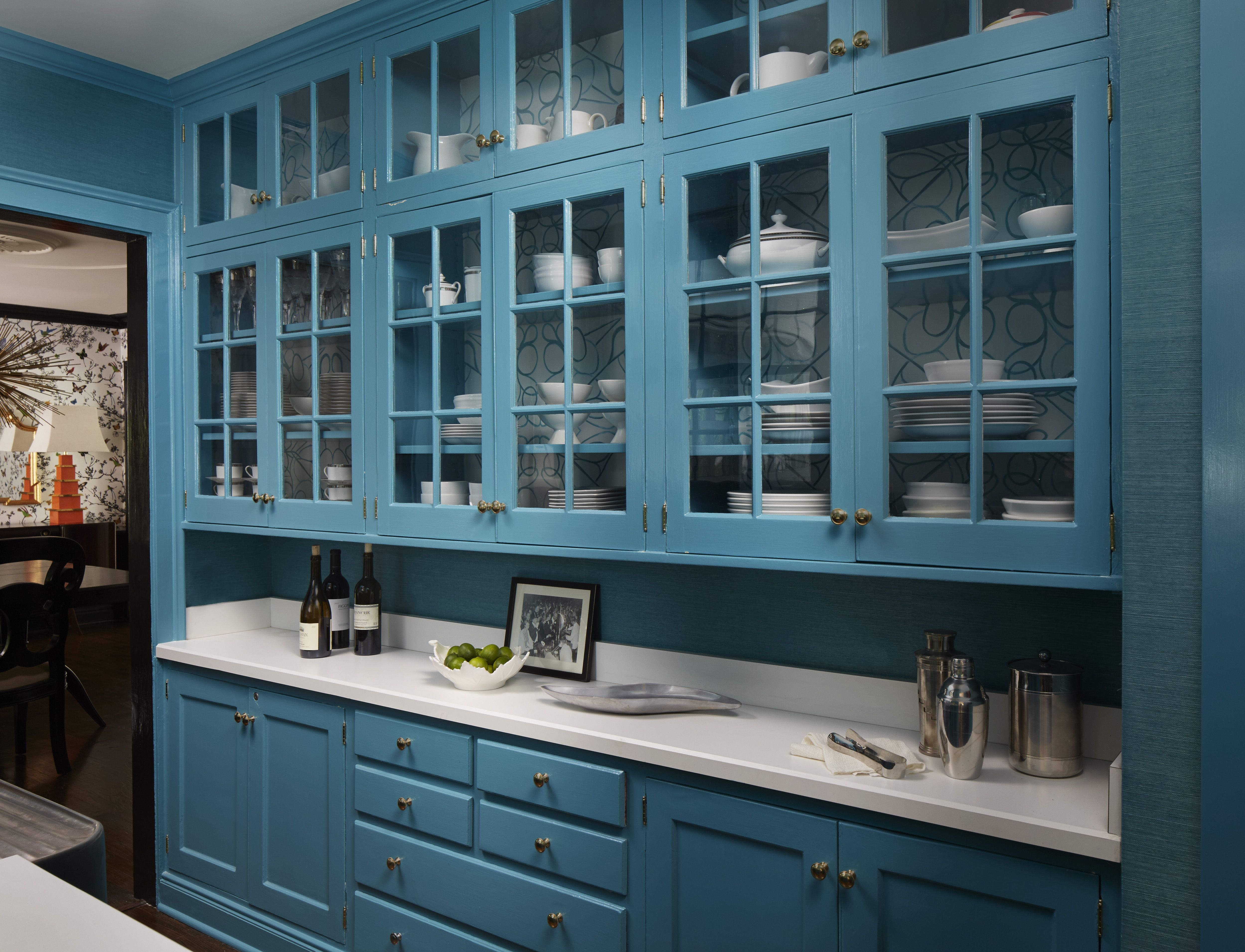 Pantry Kitchen Cabinets Revamping A Kitchen Using Pantry Cabinets ...