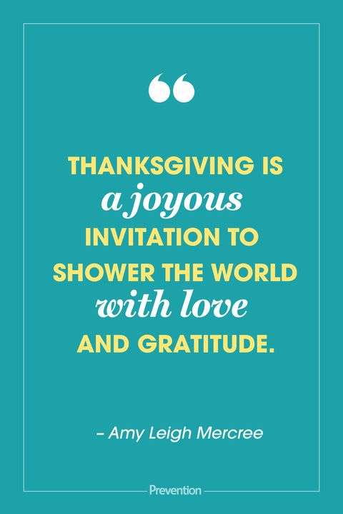 25 Best Thanksgiving Quotes of 2019 - Amy Leigh Mercree