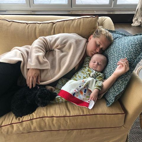 Child, Nap, Comfort, Sleep, Toddler, Baby, Interaction, Couch, Birth, Leg,