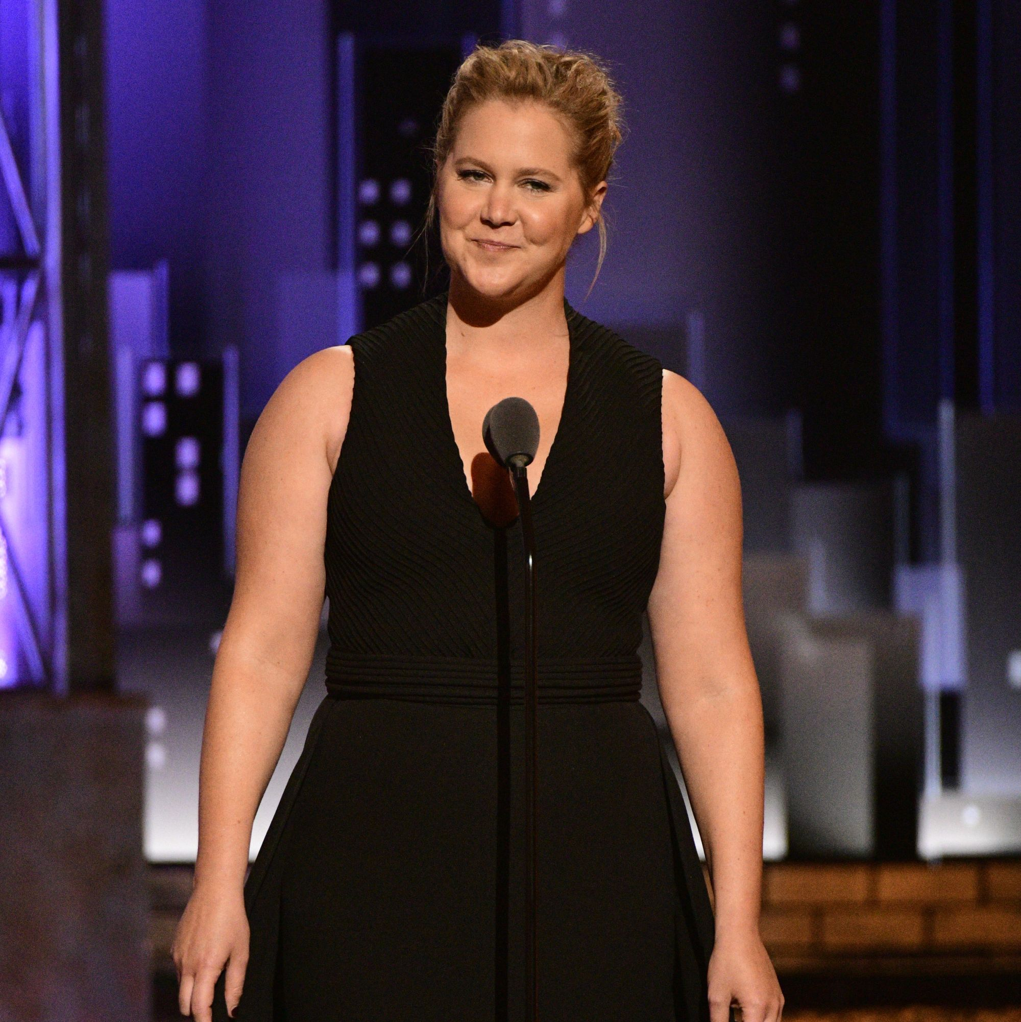Amy Schumer's Photo of Her Newborn's First Bath Is as Real as It Gets