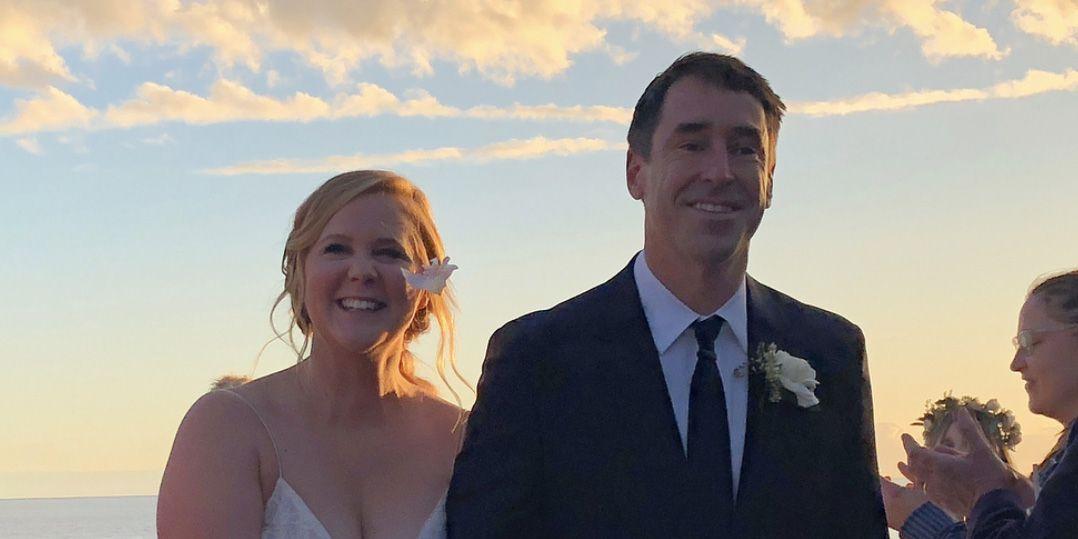Amy Schumer is married following surprise wedding to chef boyfriend Chris Fischer