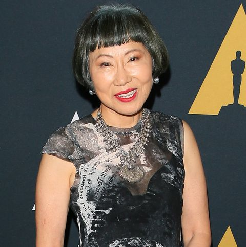 amy tan at the 25th annual academy awards