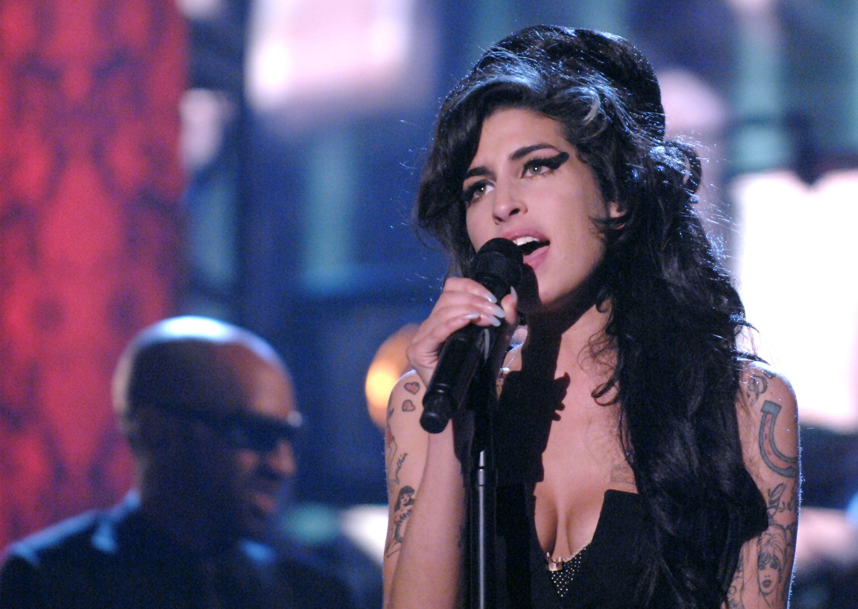 Then: Amy Winehouse