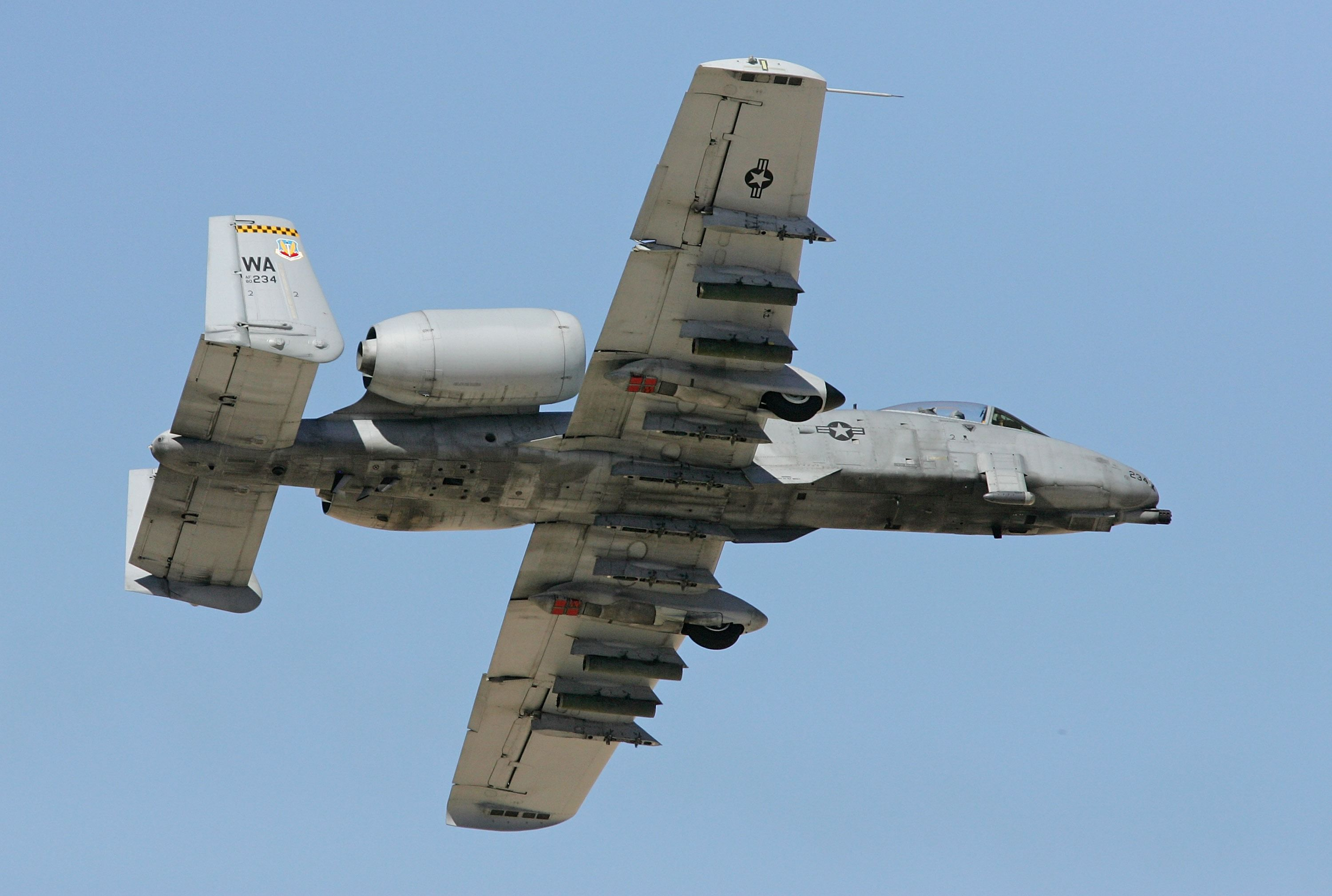 Oops! An A-10 Warthog Accidentally Fired a Rocket During a Training Flight