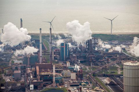 dutch residents take action against tata steel for pollution
