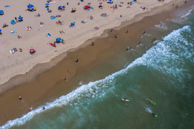is it safe to go to the beach right now, beach safety coronavirus