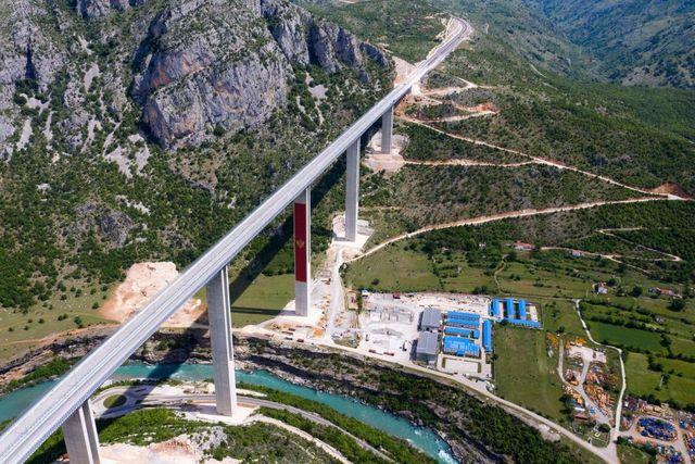 montenegro china road debt