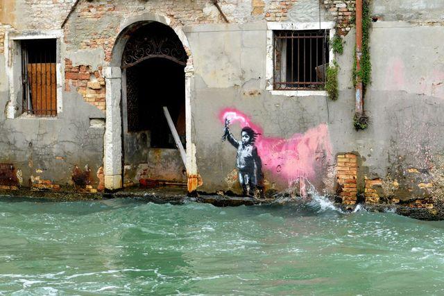 banksy opere venezia