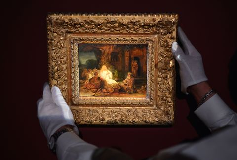 topshot us art painting rembrandt