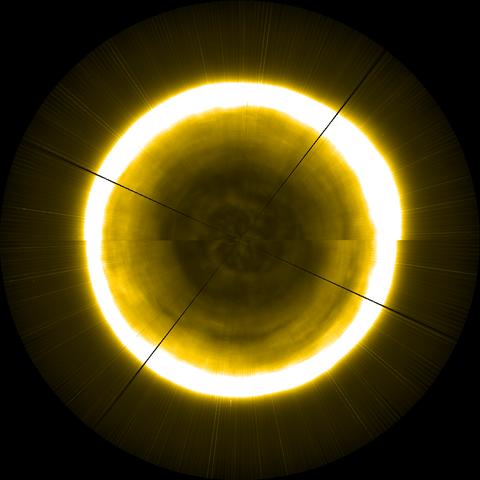 Yellow, Light, Circle, Lighting, Sphere, Symmetry,