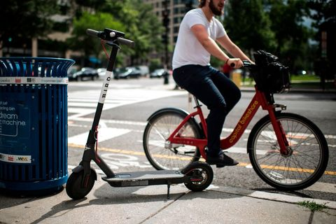 US-IT-LIFESTYLE-TRANSPORT-SCOOTER