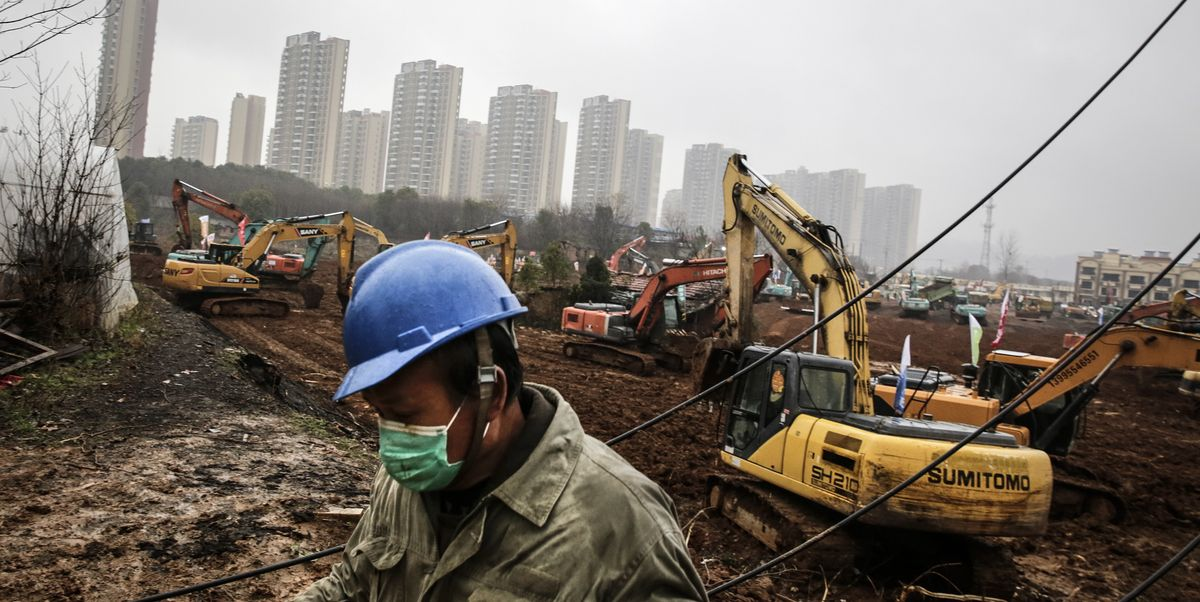 Watch a Time Lapse of China Building a Hospital for Coronavirus Patients in Just 10 Days