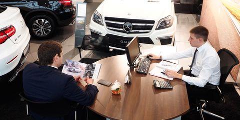 mercedes benz car dealership in volgograd