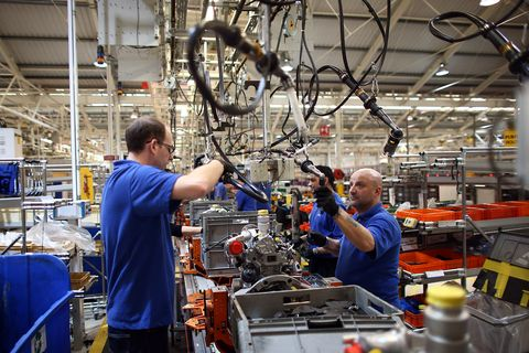 The New State Of The Art Ford Production Line