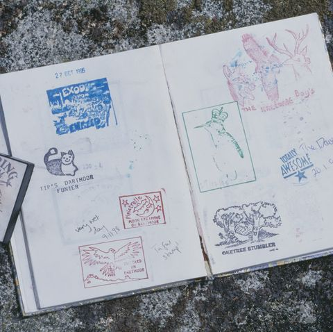 Camping Games - Letterboxing