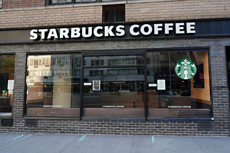 Starbucks' Existing Dress Code Does Not Allow Employees to Wear Attire That Supports BLM thumbnail