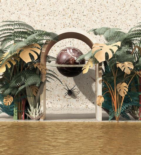 Il Giardino di St Germain e L'albero Fiore Al FuoriSalone 2019