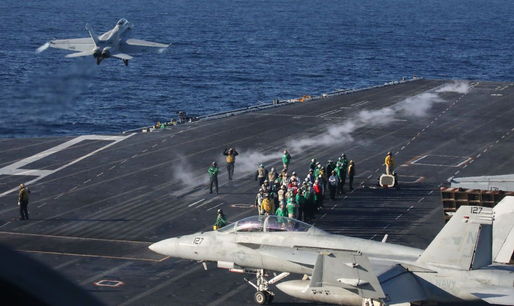 Why the Pentagon Suddenly Halted the USS Nimitz's Redeployment
