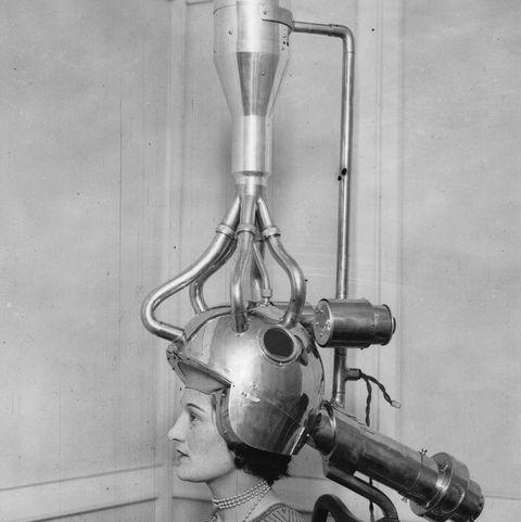 bizarre vintage beauty regimens hair dryer