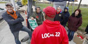 UAW Members Await Announcement On Tentative Deal Ending Strike