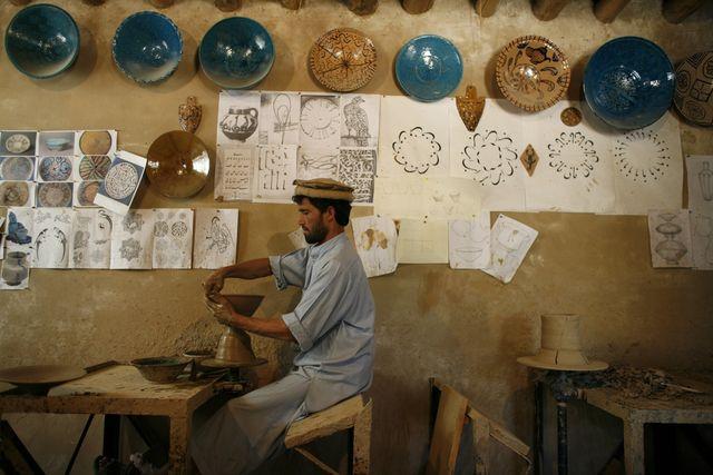 アフガニスタン 工芸品
