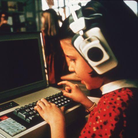 Child Using Computer